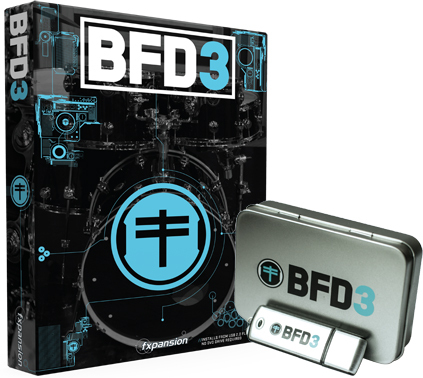 fxpansion BFD3 Special w / USB 2.0 Flash Drive - Black Friday Sale]