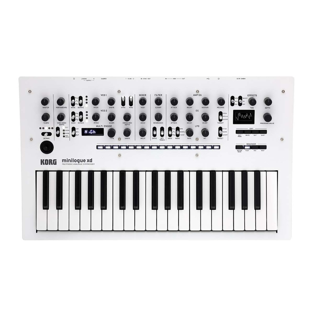 KORG minilogue xd-PW POLYPHONIC ANALOGUE SYNTHESIZER シンセサイザー