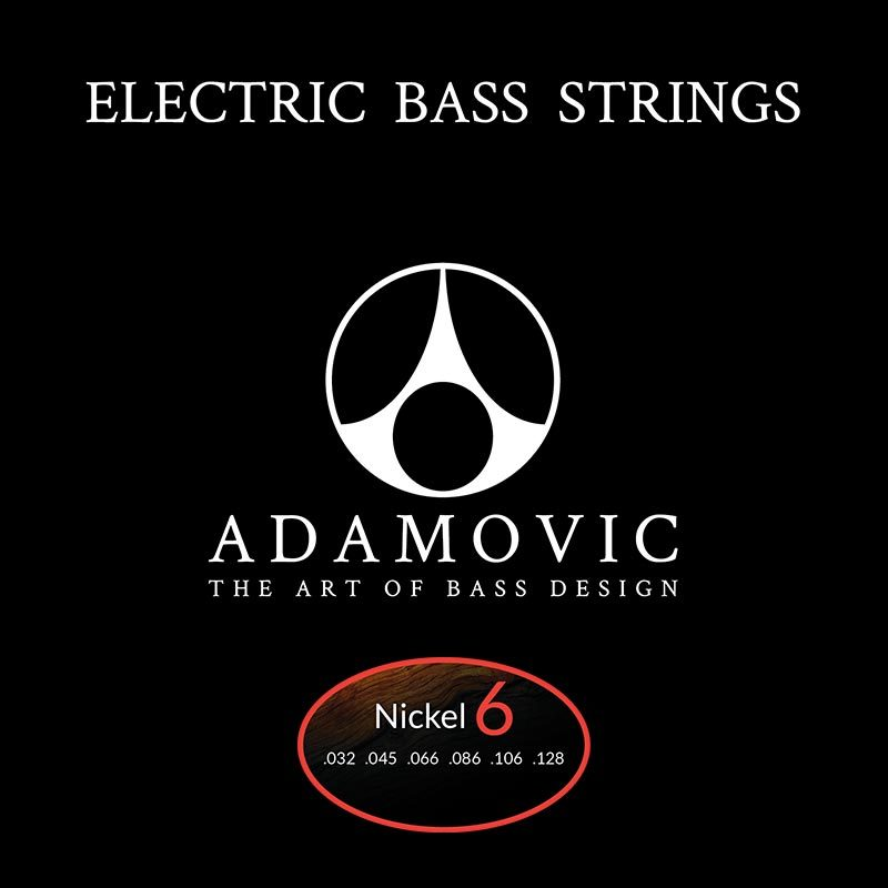 Adamovic Adamovic Bass string set 6st [Nickel]