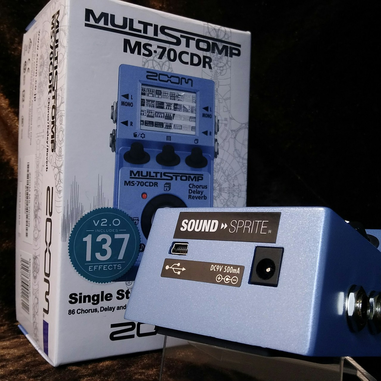 SOUND SPRITE ZOOM MS-70CDR MOD