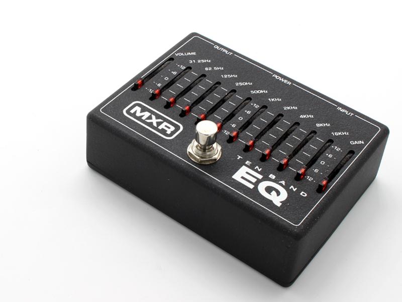 MXR M108 10 BAND EQ - サウンドメイクの必需品 / USED -
