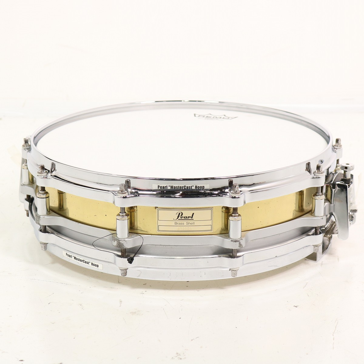 Pearl FB1435/C フリーフローティング ブラス スネアドラム 14x3.5 【SHIBUYA_WEST】