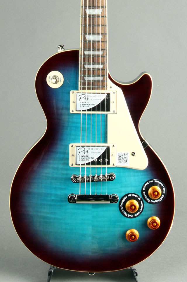Epiphone Les Paul Standard Plus-top Pro Blueberry Burst