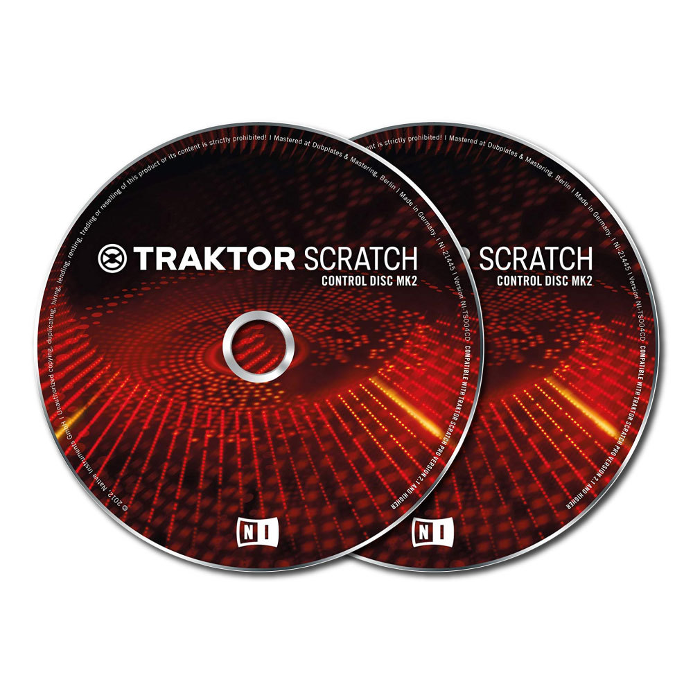 NATIVE INSTRUMENTS TRAKTOR SCRATCH Pro Control CD MK2 コントロールCD