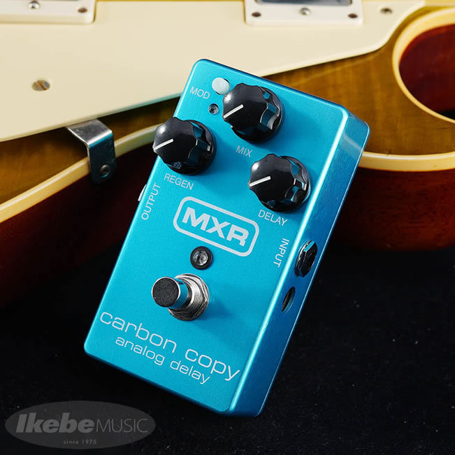 "MXR M169 Carbon Copy Analog Delay ""Aqua Blue"""