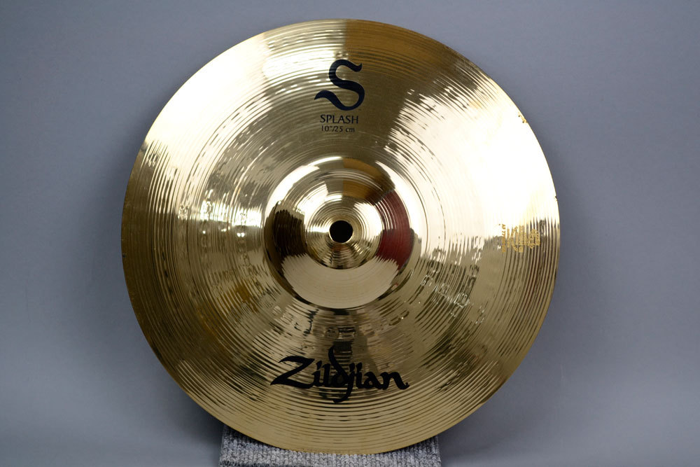 Zildjian S Series splash cymbals 10 inches Paper Thin NAZLS10S Zildjian