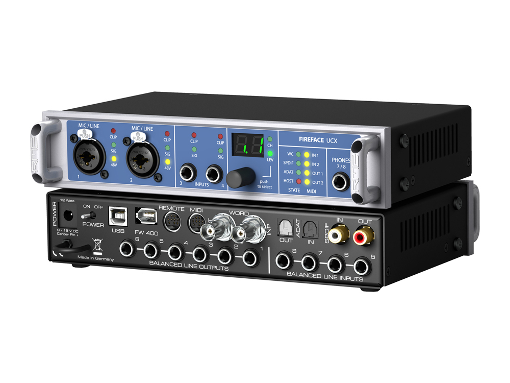 RME Fireface UCX [next minute stock reservation in accepting!] []