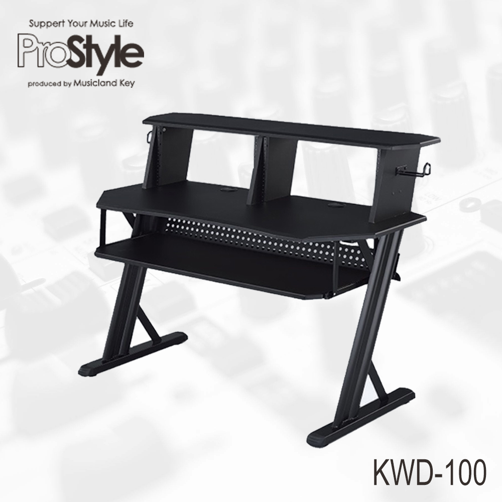Pro Style KWD-100 BK Home Recording Table [household DTM desk! Now on display in the shop!]