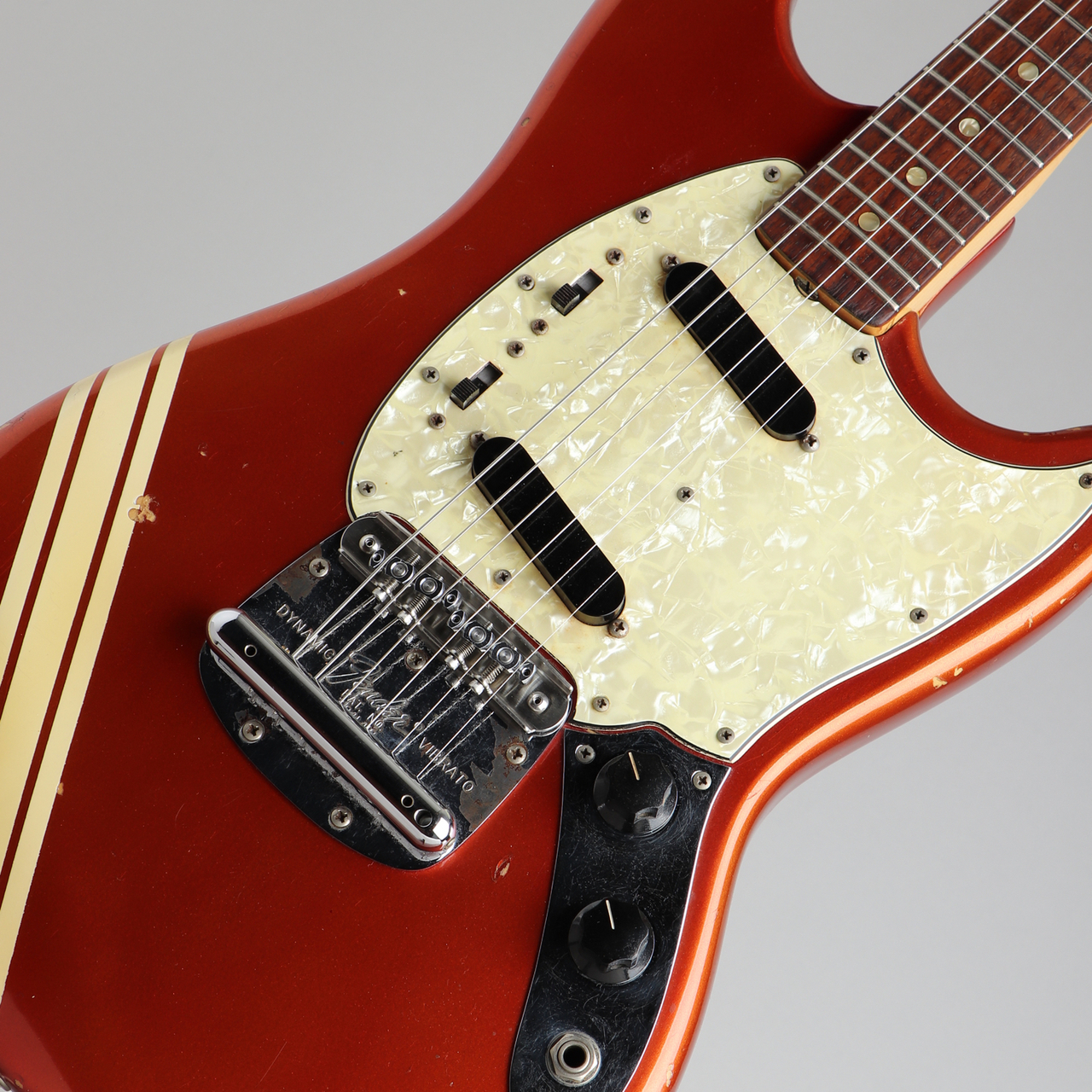 Fender 1969 Mustang Competition Red