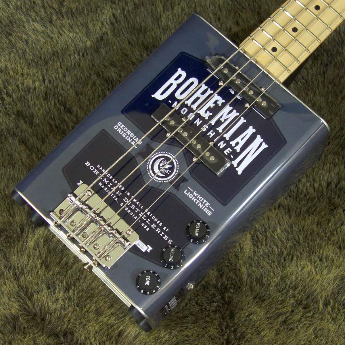 Bohemian Guitars BGB15 Oil Can Bass Moonshine