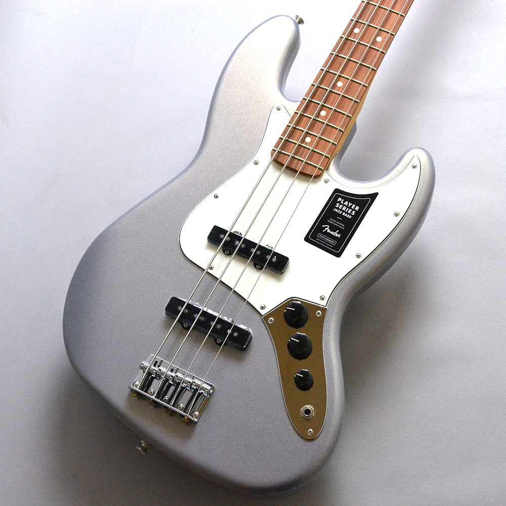 Fender PLAYER JAZZ BASS PF / SL(Silver)