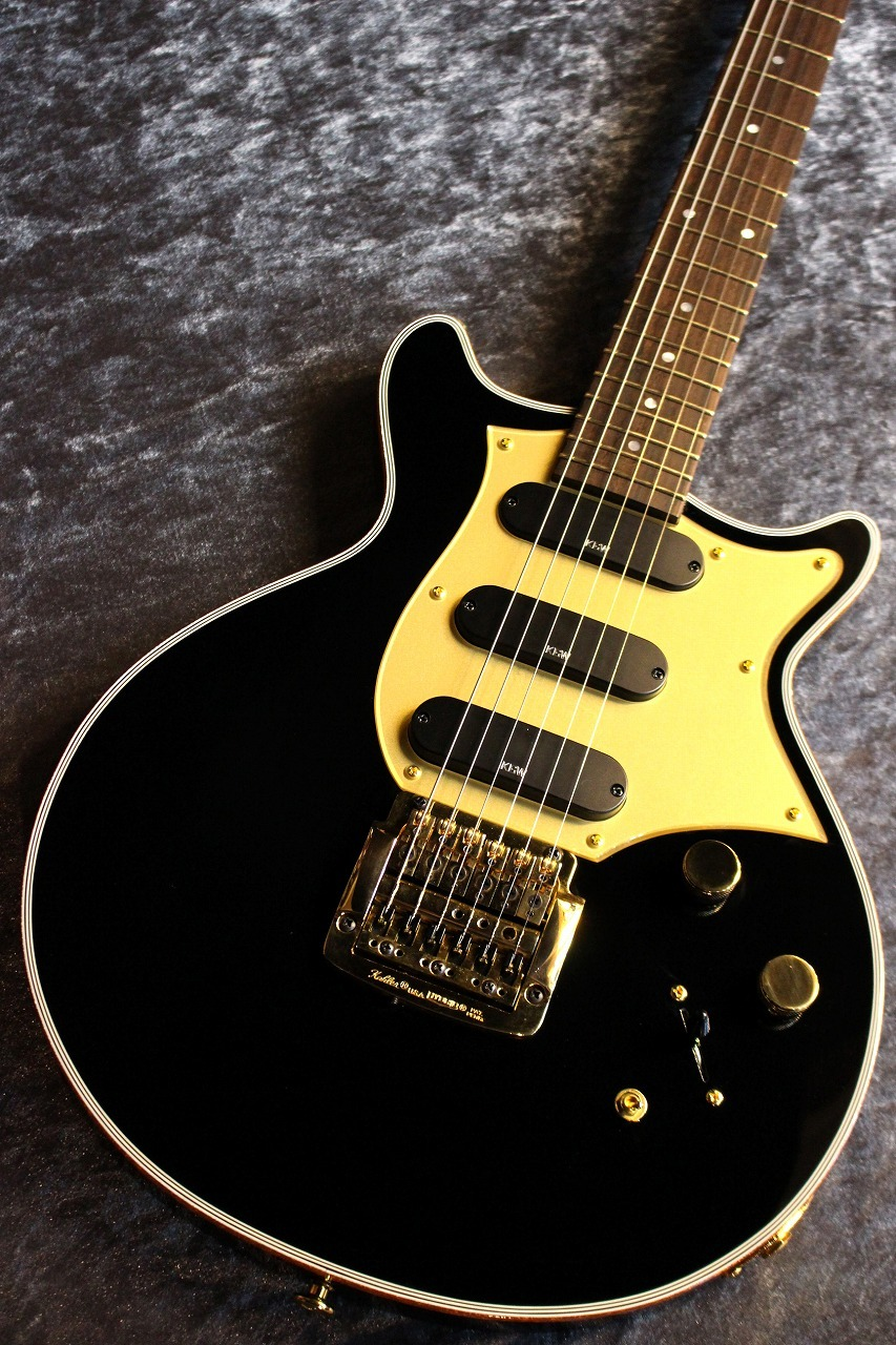 Kz Guitar Works Kz One Solid 3S11 Kahler Black&Gold #20190110【ちょっとレアモデル】【EVO Goldフレット】