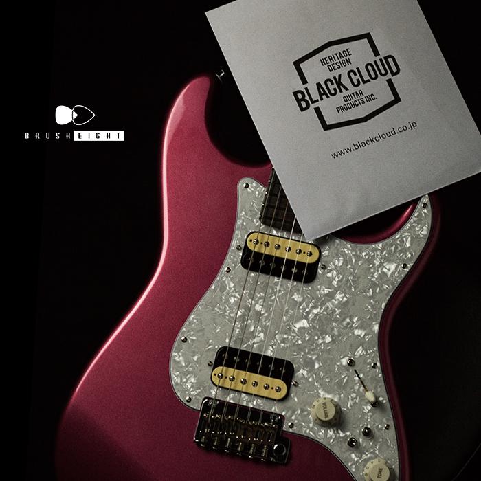 "Black Cloud Guitar [Video Available] Black Cloud Guitar Black Smoker σ 2H ""Burgandy Mist"""