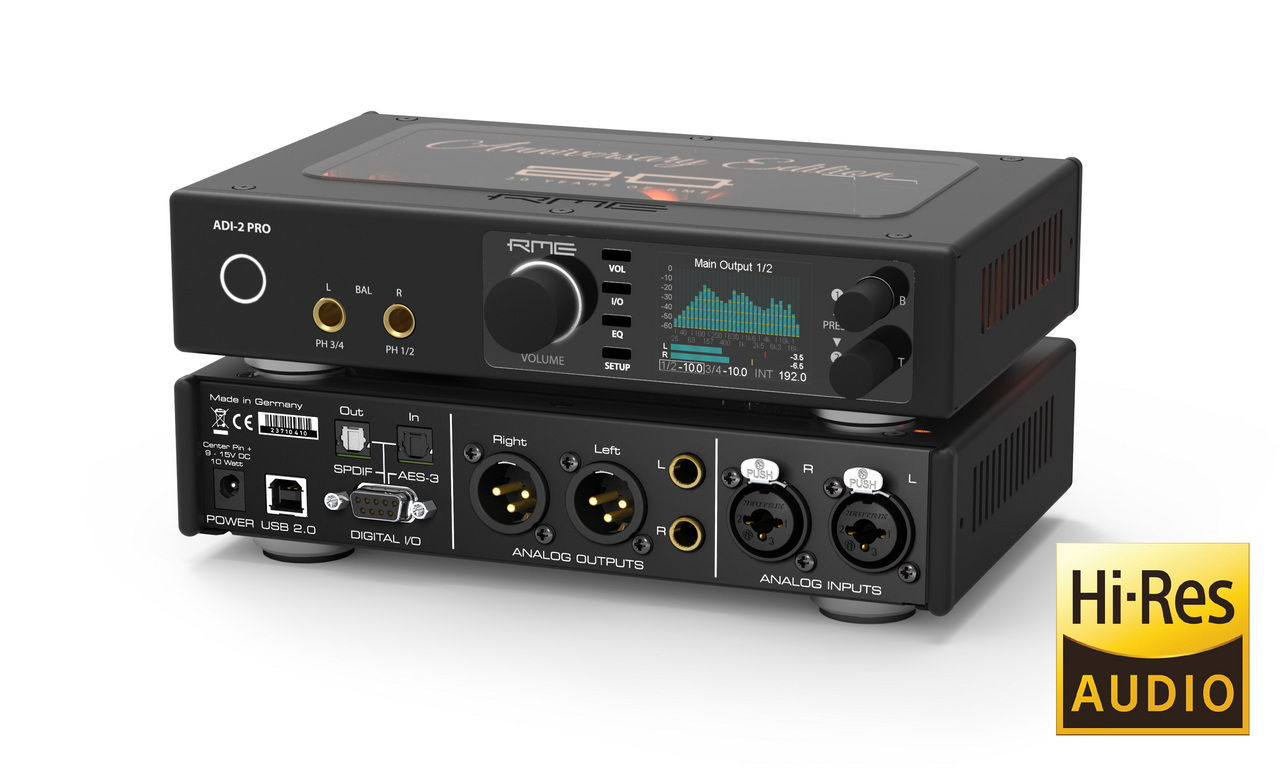 RME ADI-2 Pro Anniversary Edition [only one possible instant delivery!] []