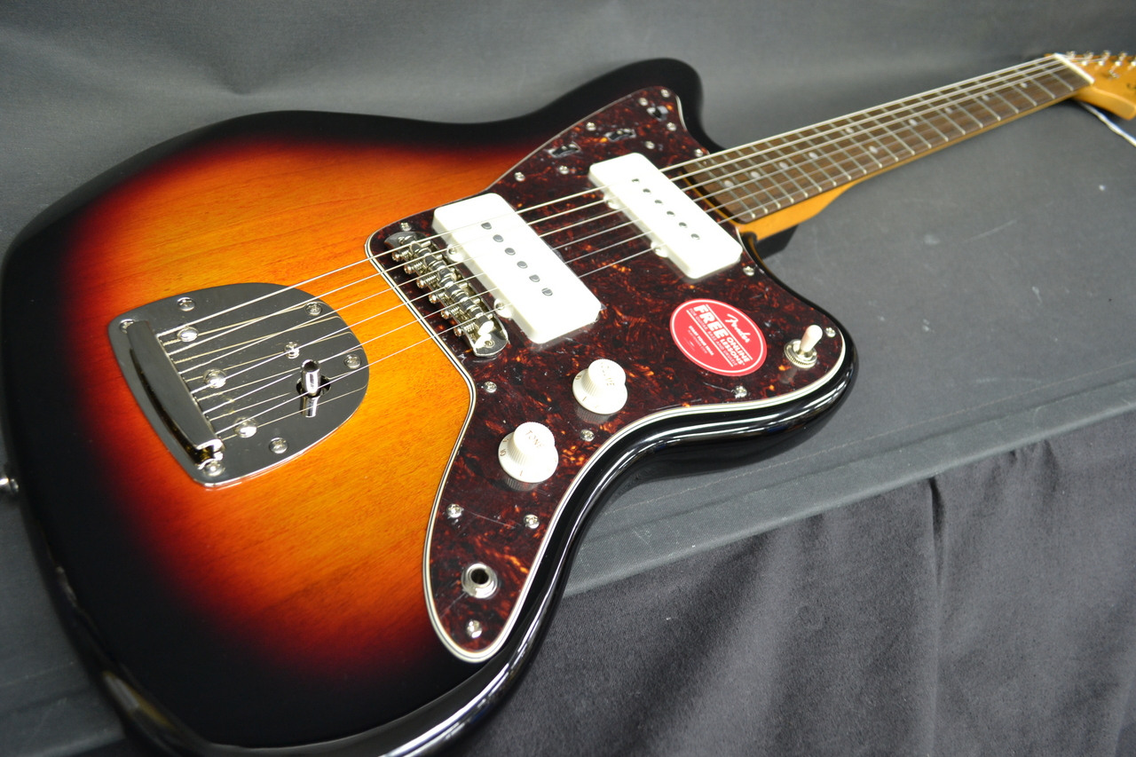 Squier by Fender Classic Vibe 60s Jazzmaster Laurel Fingerboard 3-Color Sunburst