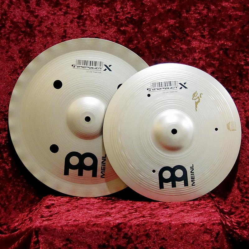 Meinl Generation X Trash Hat GX-12 / 14TH [KEY OFF Kyoto shop MEINL 35% cymbals!]