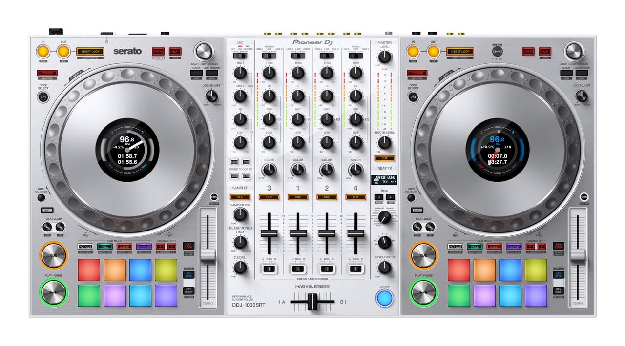 Pioneer Dj DDJ-1000SRT-W (Serato DJ Suite 付属) 高級ヘッドホンプレゼント!