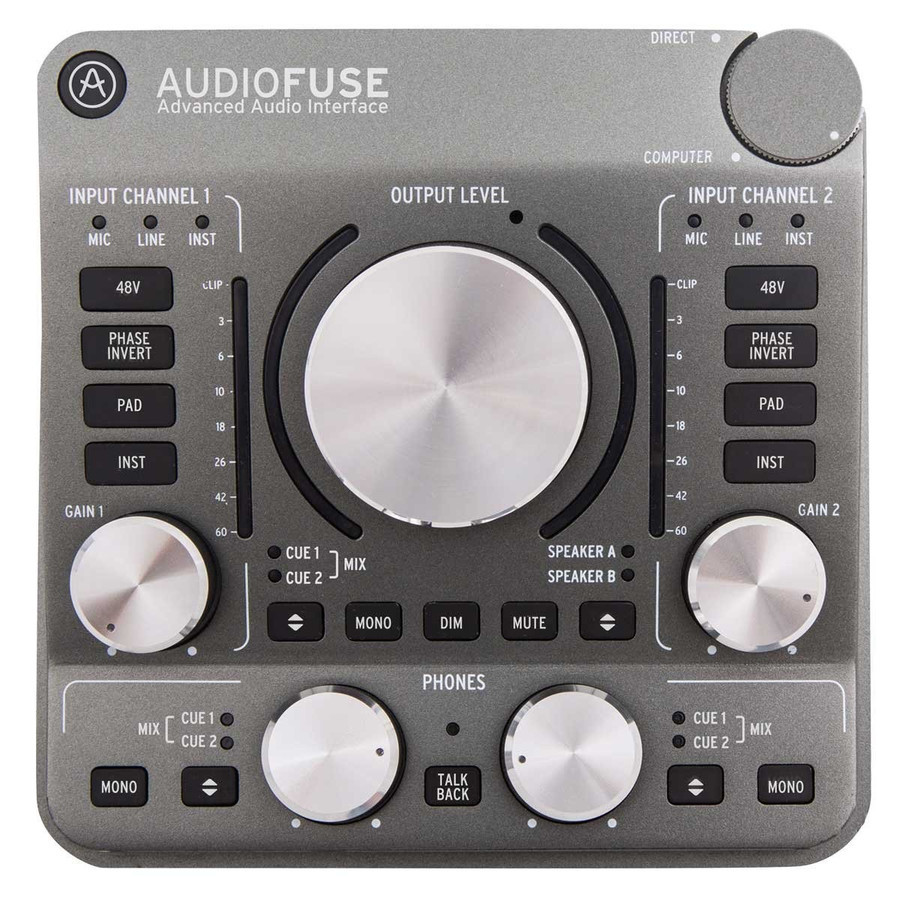 [Large release !!!! at a deep discount for the deep discount !! Studio Refurbished] Arturia AUDIOFUSE GR