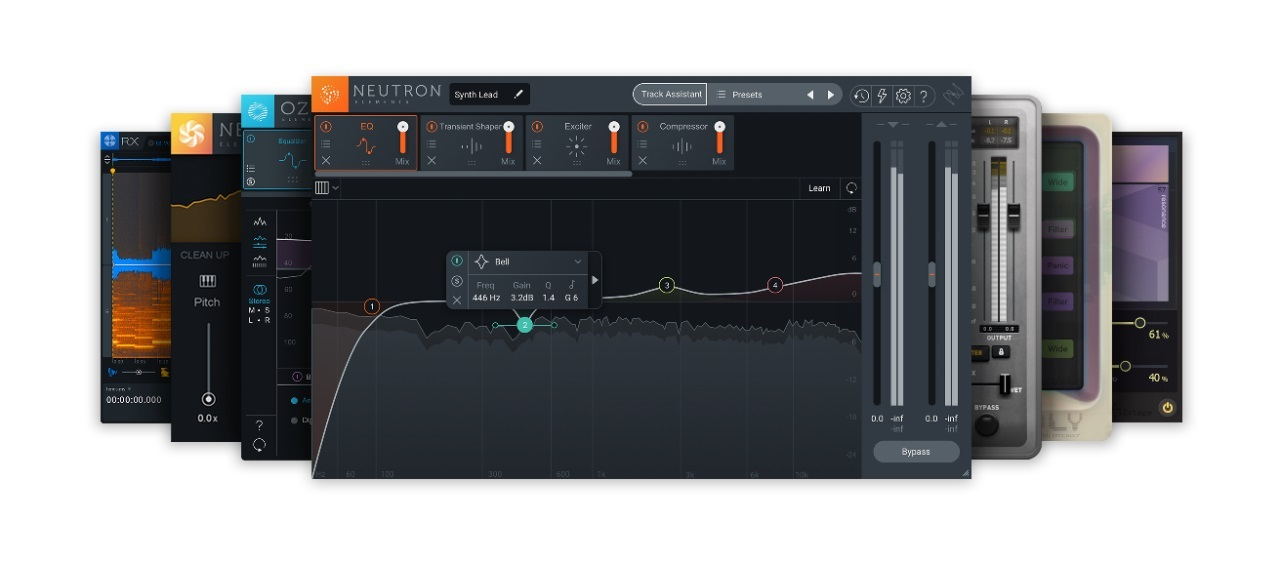 iZotope Music Essentials Bundle(Make Music Dayキャンペーン)【電子メール納品】