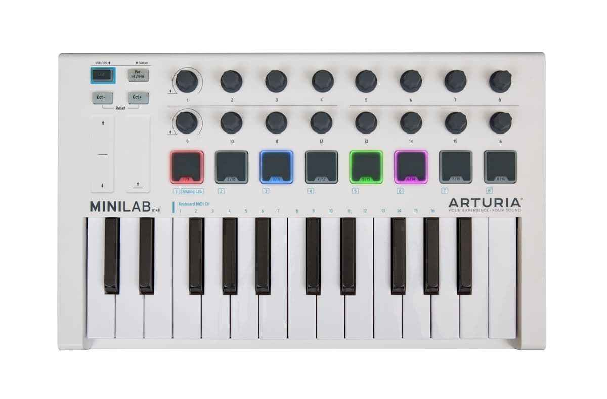 Arturia MiniLab MKII WH [is possible instant delivery if now!] [!]