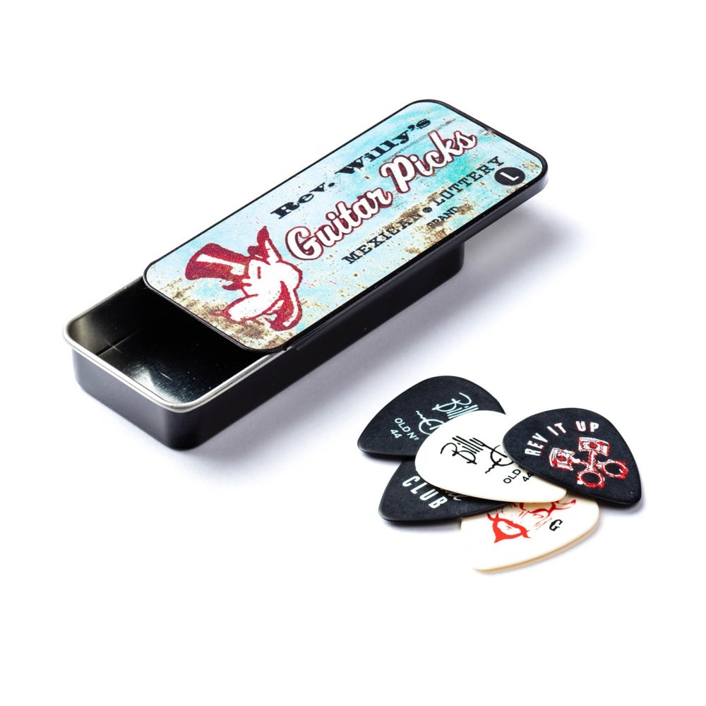 Jim Dunlop No.27712 RWT03H REV WILLY HEAVY ピック&ケース