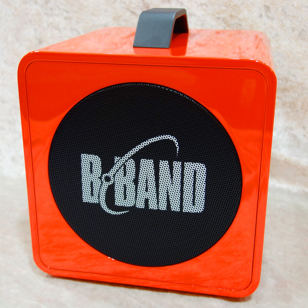 B-BAND AC45J RED [lightweight and compact and convenient portable amplifier to carry!]