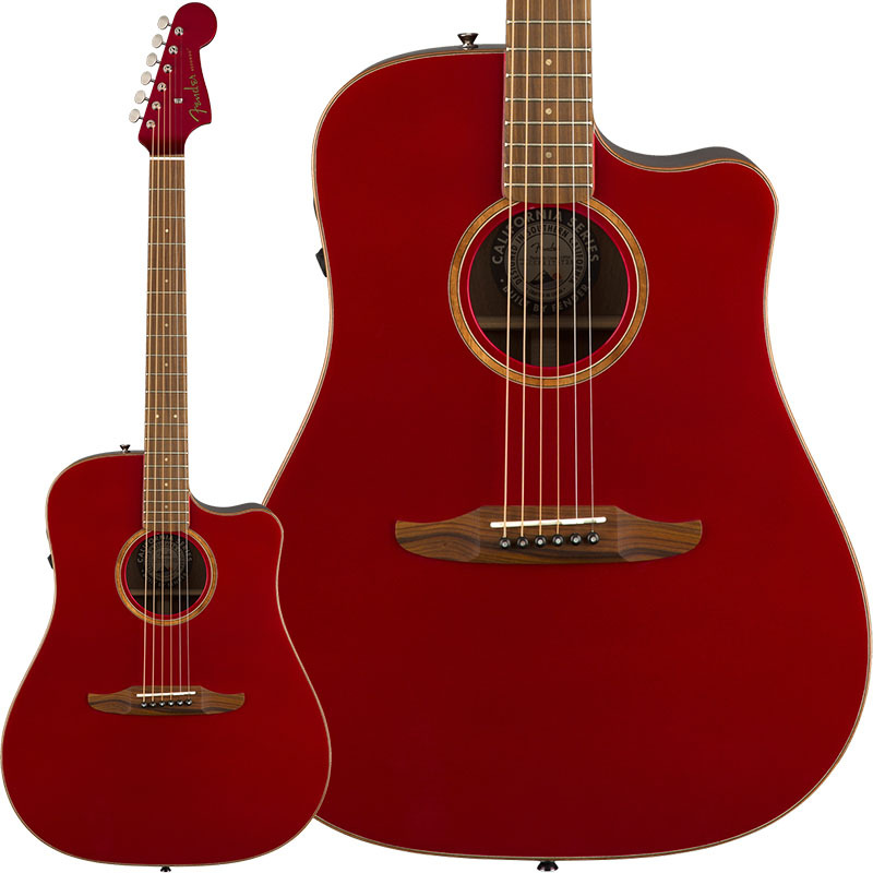 Fender Acoustics Redondo Classic (Hot Rod Red Metallic)【特価】