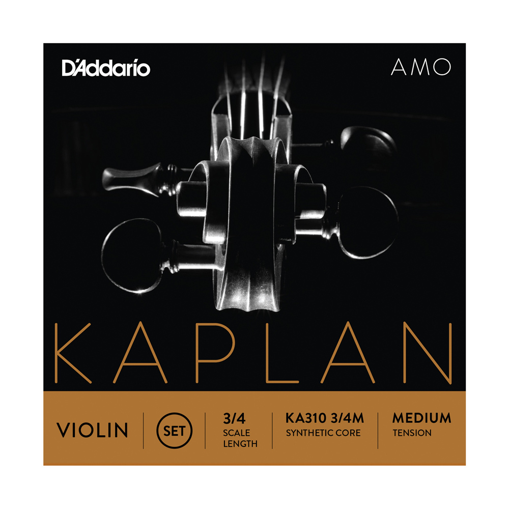 D'Addario KA310 1/4M Kaplan Amo Violin String Set 1/4 Scale Medium Tension バイオリン弦セット 1/4スケール