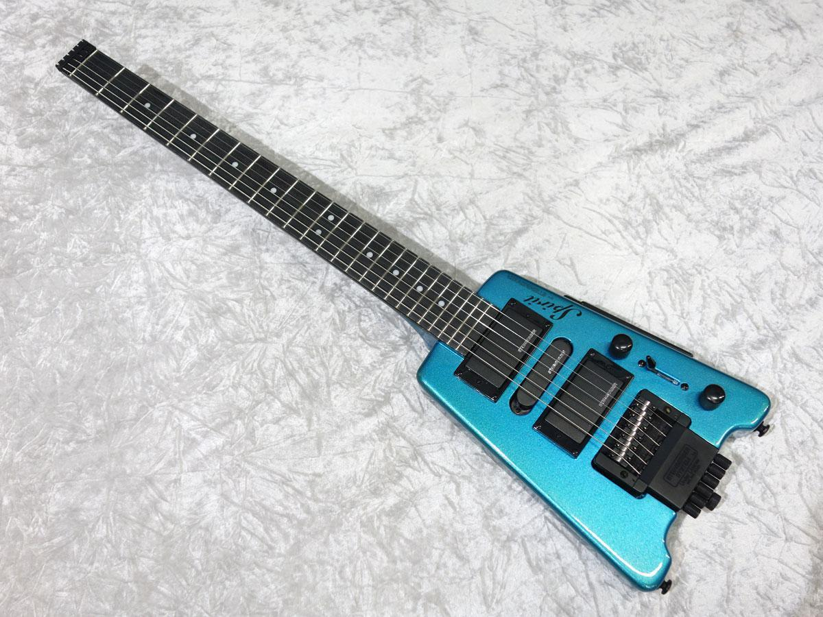Steinberger Spirit GT-Pro Deluxe Frost Blue [string adapter gift!]