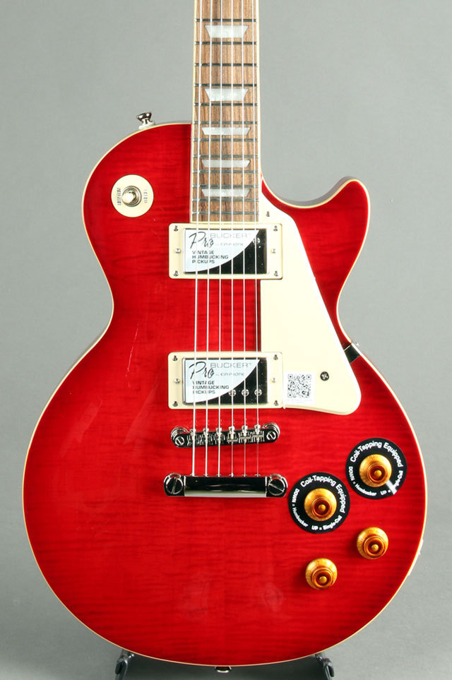 Epiphone Les Paul Standard Plus-top Pro Blood Orange