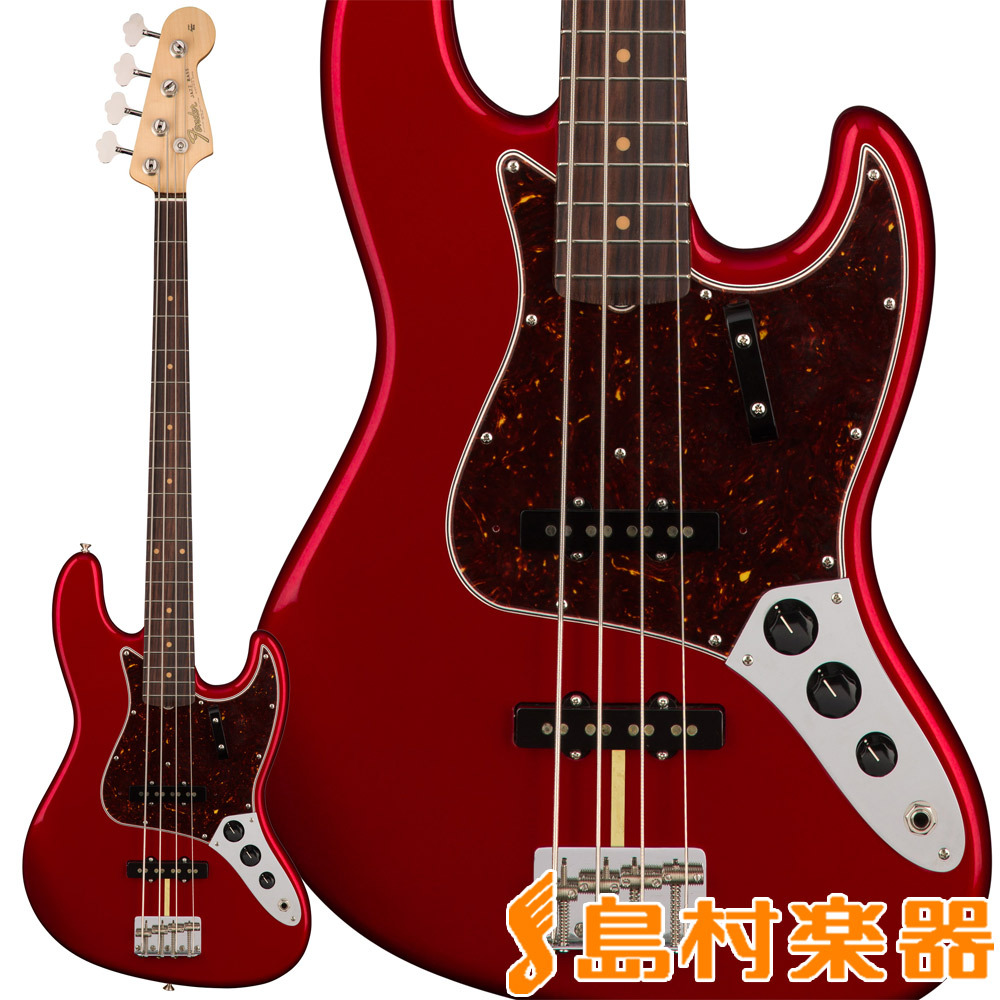 Fender American Original '60s Jazz Bass Candy Apple Red ジャズベース