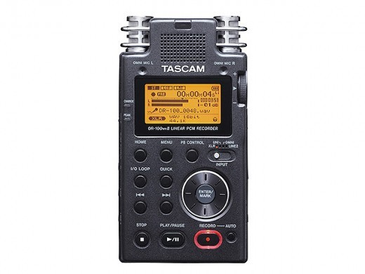 Tascam DR-100MKII [one limited box rags Specials] []