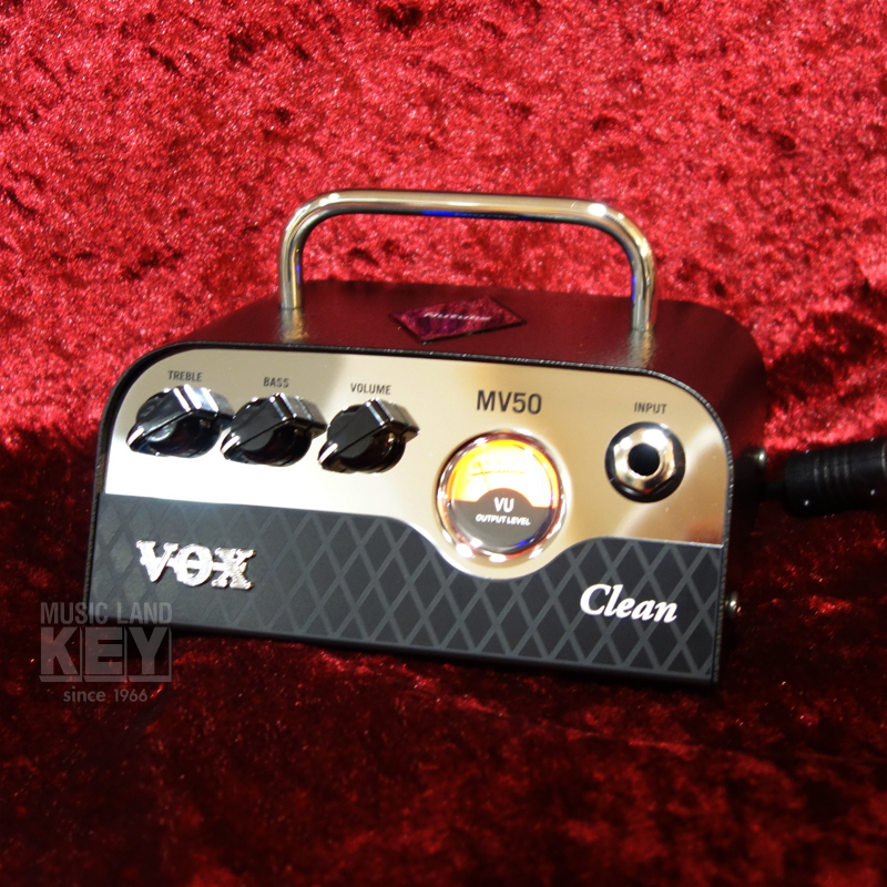 [50W amp head !! equipped with one last limited Specials 4,120 yen OFF !! Nutube] VOX MV50 CL