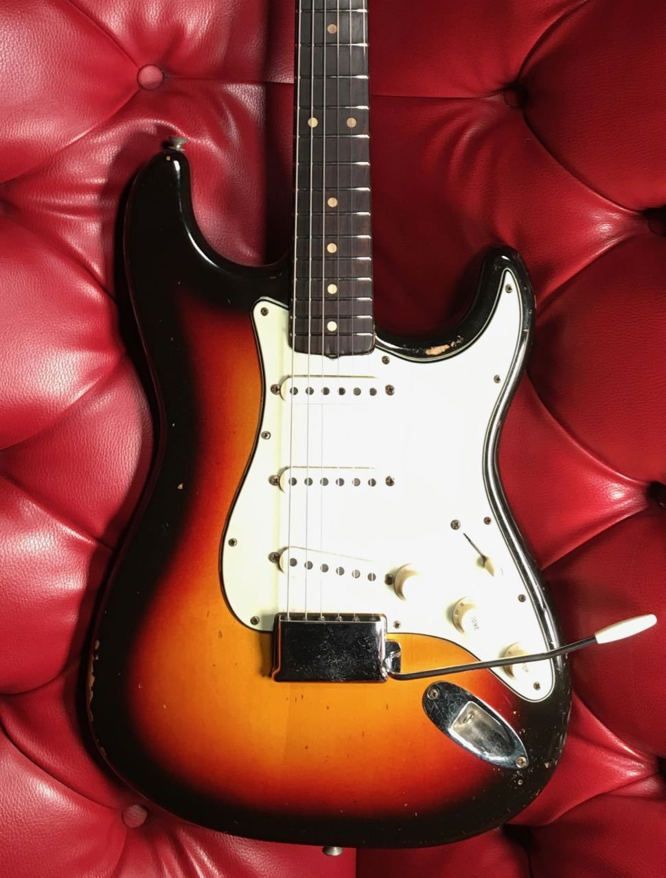 Fender STRATOCASTER with synchronized tremolo 1963年製