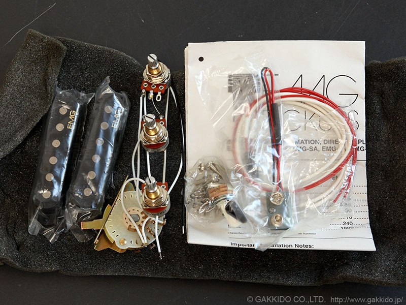 EMG SAV SET Black [SAV × 1 one missing item] [older] [dead stock goods] [junk]