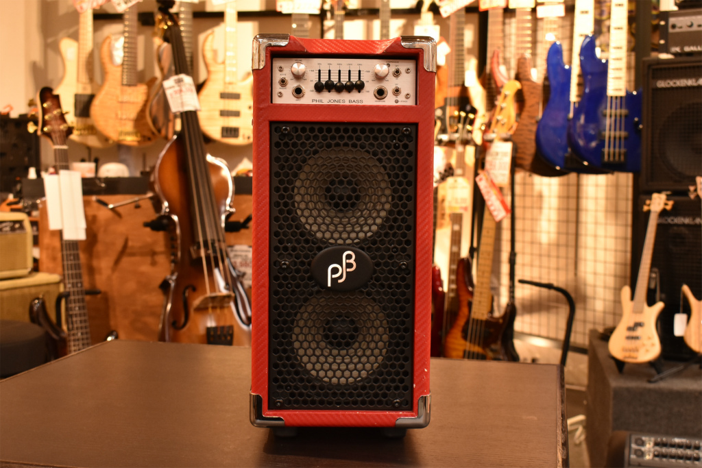 Phil Jones Bass Briefcase - Carbon Red -【OUTLET】