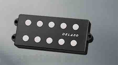 Delano Pickup MM style 5 9,5 mm ferrite  MC 5 FE 1700 dual coil humbucker p.p spacing 17mm