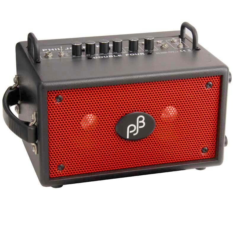 Phil Jones Bass Double Four BG-75 (BLACK/RED GRILL) [IKEBE ORIGINAL COLOR]