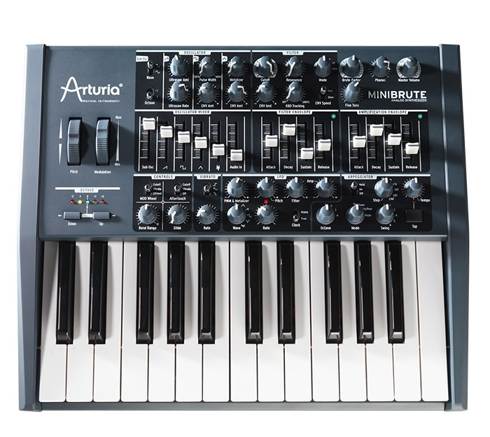 Arturia MiniBrute FULL-BLAST ANALOG SYNTHESIZER Outlet Specials]