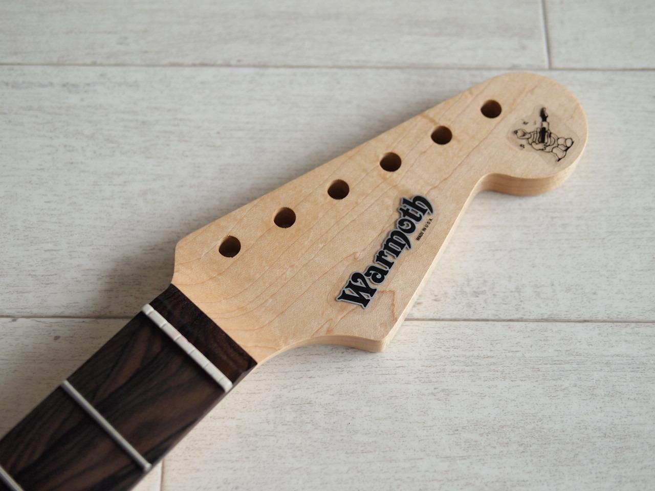 WARMOTH Stratocaster Neck - Maple/Figured Ziricote - Modern