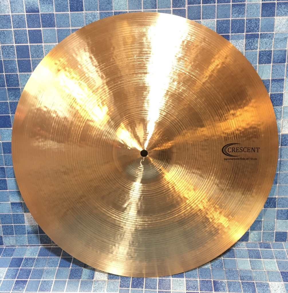 "SABIAN Crescent Jeff Hamilton 20 ""Hammertone Ride [1 limited edition Specials !!!]"