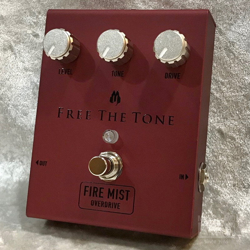 Free The Tone FIRE MIST FM-1V [royal road British rock sound !!!!]