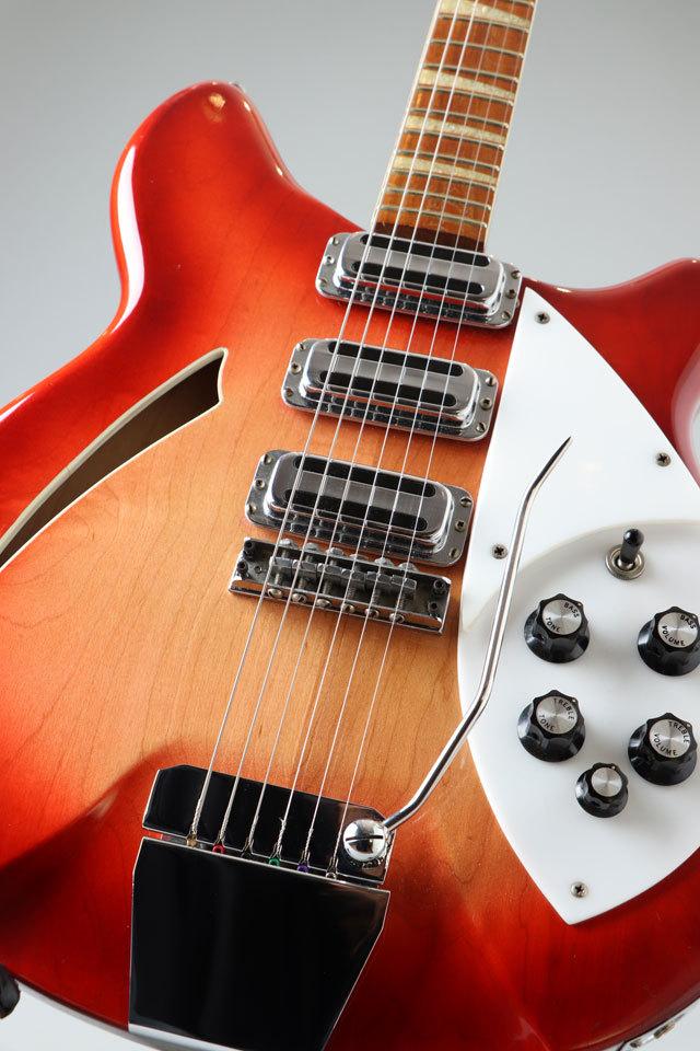 Rickenbacker 1967 370 Fireglo mod