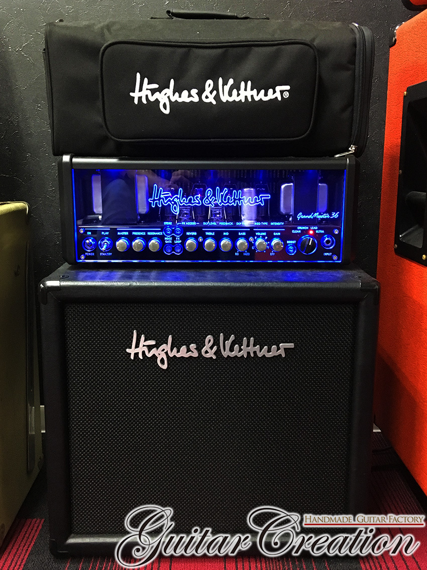 Hughes&Kettner Grand Meister 36 Head w/112 Cabinet and FSM432