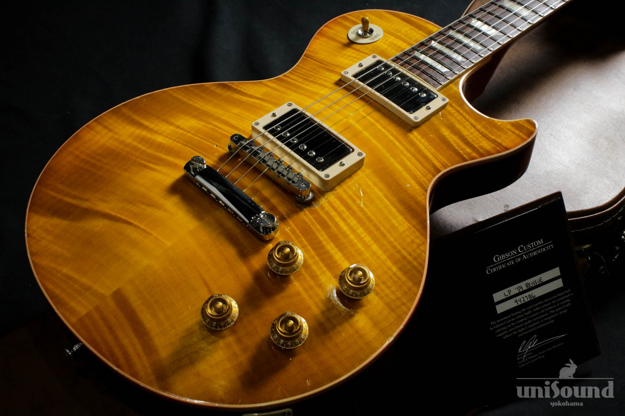 Gibson Custom Shop Historic Collection 1959 Les Paul Standard Reissue / Lemon Drop / 2014