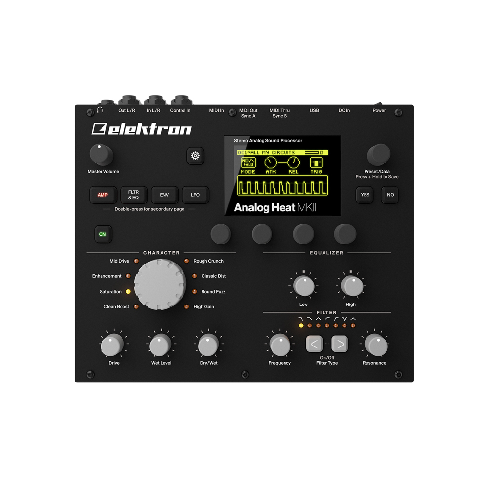 elektron Analog Heat MKII HFX-1 [single limit of new discount! rare! There are benefits!] []