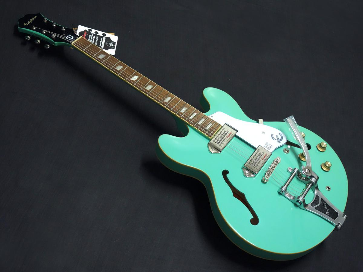 Epiphone Limited Edition Casino Bigsby Turquoise【決算セール2020!!】