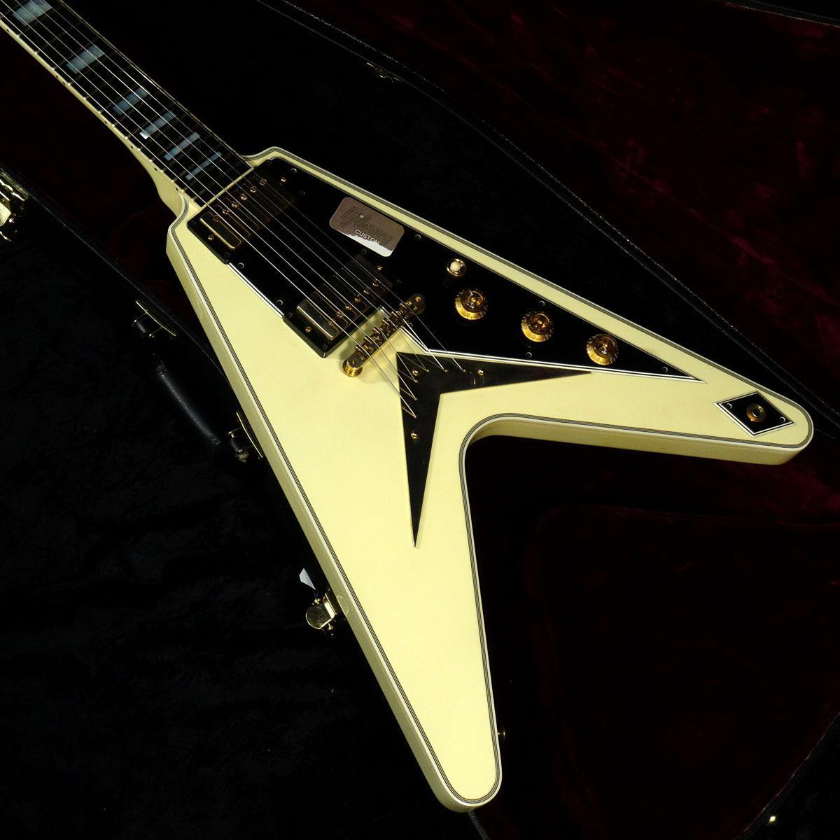 Gibson Custom Shop Gibson CS Flying V Custom Alpine White【決算セール2020!!】