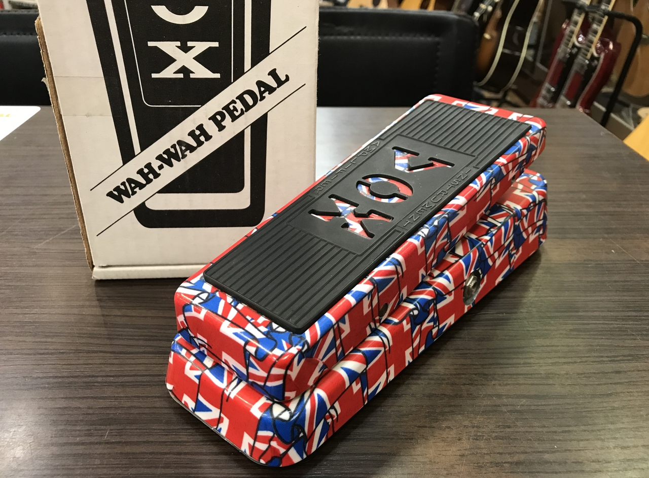VOX Limited Edition V847 Union Jack Wah Pedal 【中古品】【元箱・取説付】【USA製】