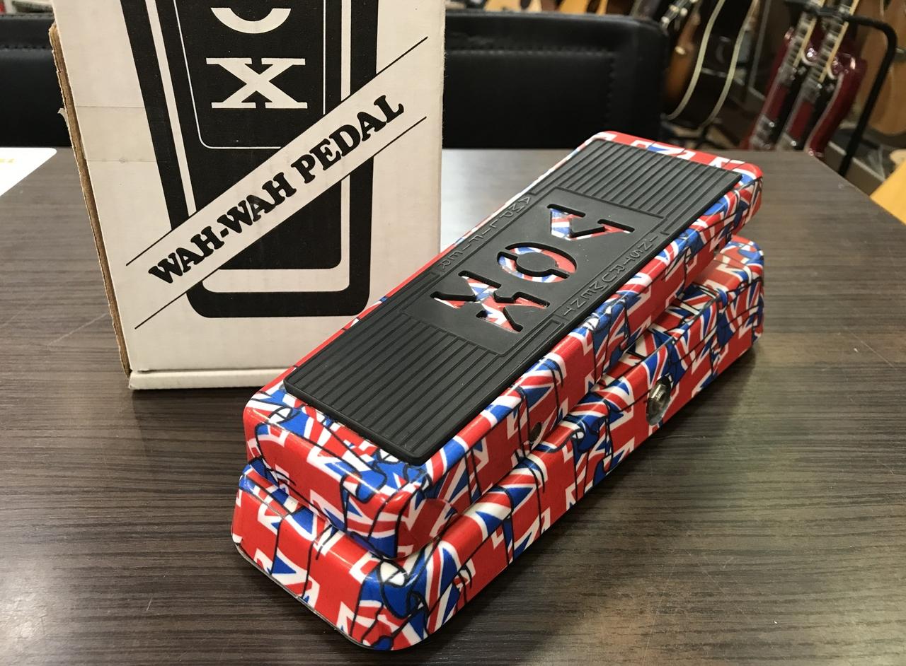 VOX Limited Edition V847 Union Jack Wah Pedal 【中古品】【元箱・取説付】【USA製】